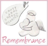 Memorial Keepsakes, Remembrance Jewelry, Sympathy Gifts